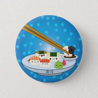 Suhsi Platter 6 Cm Round Badge