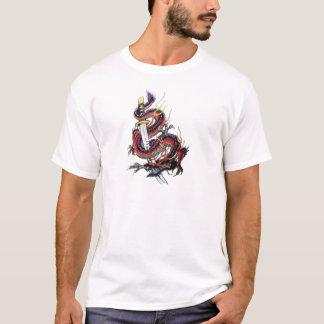 Sui Riu Japanese Dragon Katana T-Shirt