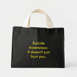 Suicide Awareness Mini Tote Bag