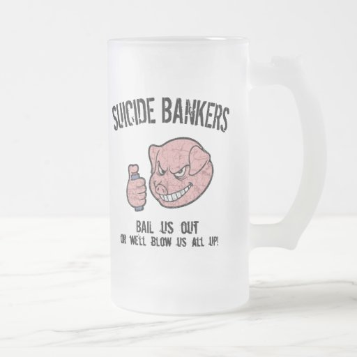 Suicide Bankers Mugs