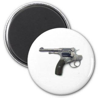 Suicide gun 6 cm round magnet