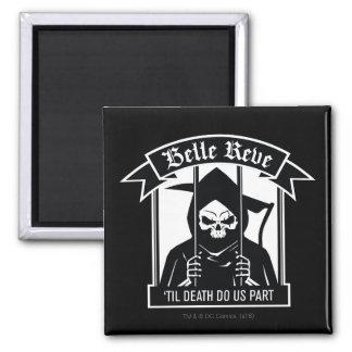 Suicide Squad   Belle Reve Reaper Graphic Square Magnet
