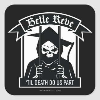 Suicide Squad | Belle Reve Reaper Graphic Square Sticker