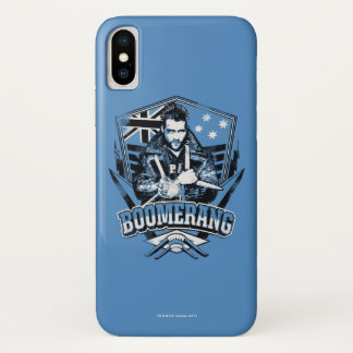 Suicide Squad   Boomerang Badge iPhone X Case