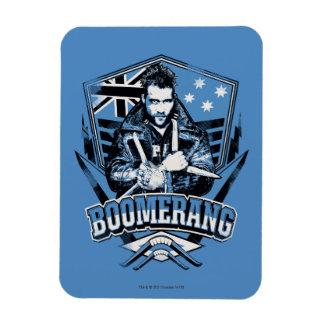 Suicide Squad   Boomerang Badge Rectangular Photo Magnet