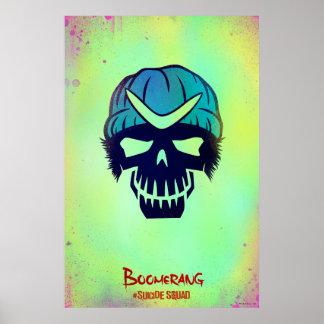 Suicide Squad | Boomerang Head Icon Poster