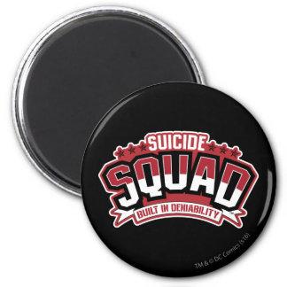Suicide Squad   Built In Deniability 6 Cm Round Magnet