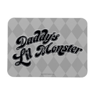 Suicide Squad | Daddy's Lil Monster Rectangular Photo Magnet