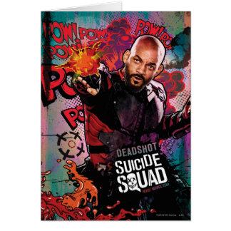 Suicide Squad | Deadshot Character Graffiti Card