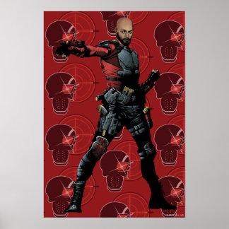 Suicide Squad | Deadshot Comic Book Art Poster