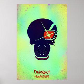 Suicide Squad | Deadshot Head Icon Poster