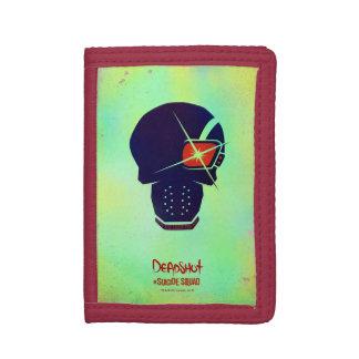 Suicide Squad | Deadshot Head Icon Tri-fold Wallet