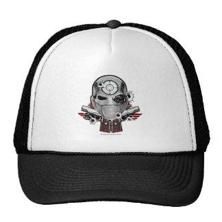 Suicide Squad   Deadshot Mask & Guns Tattoo Art Cap
