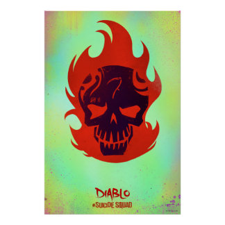 Suicide Squad | Diablo Head Icon Poster