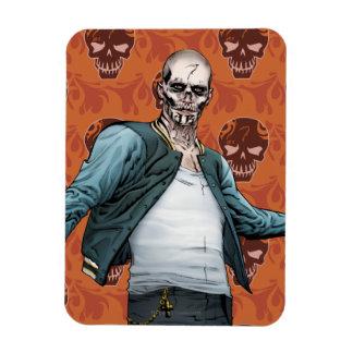 Suicide Squad   El Diablo Comic Book Art Rectangular Photo Magnet