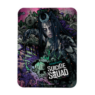 Suicide Squad | Enchantress Character Graffiti Rectangular Photo Magnet