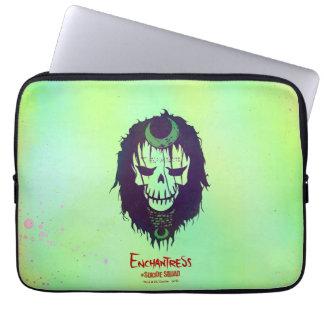 Suicide Squad | Enchantress Head Icon Laptop Sleeves