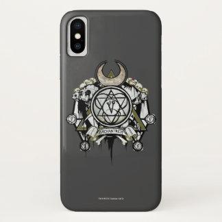Suicide Squad   Enchantress Symbols Tattoo Art iPhone X Case