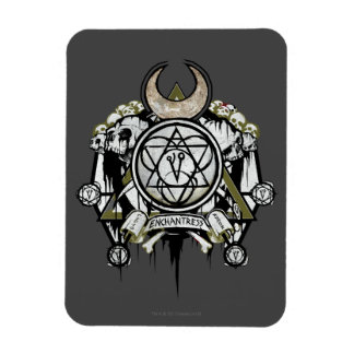 Suicide Squad   Enchantress Symbols Tattoo Art Rectangular Photo Magnet