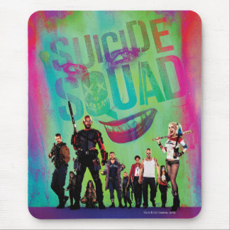 Suicide Squad | Green Joker & Squad Movie Poster Mouse Pad