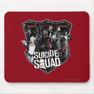 Suicide Squad | Group Badge Photo Mouse Pad