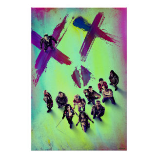 Suicide Squad | Group Poster