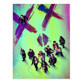 Suicide Squad | Group Poster Postcard