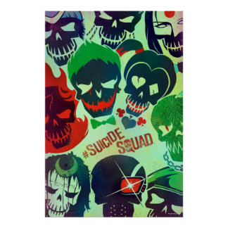 Suicide Squad   Group Toss Poster