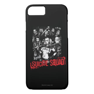 Suicide Squad | Grunge Group Photo iPhone 7 Case