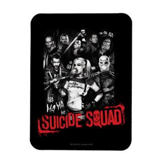 Suicide Squad   Grunge Group Photo Rectangular Photo Magnet