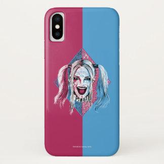 Suicide Squad   Harley Laugh iPhone X Case