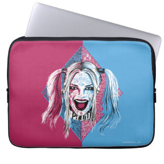 Suicide Squad   Harley Laugh Laptop Sleeve