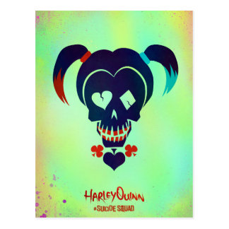 Suicide Squad | Harley Quinn Head Icon Postcard