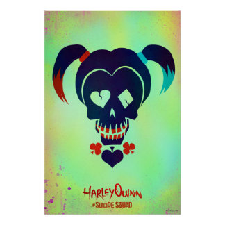 Suicide Squad | Harley Quinn Head Icon Poster