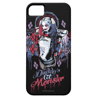 Suicide Squad | Harley Quinn Inked Graffiti iPhone 5 Case