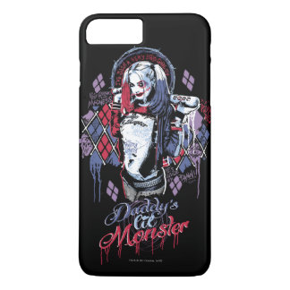 Suicide Squad | Harley Quinn Inked Graffiti iPhone 7 Plus Case