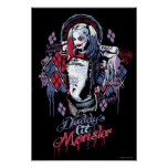 Suicide Squad | Harley Quinn Inked Graffiti Poster