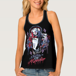 Suicide Squad | Harley Quinn Inked Graffiti Singlet