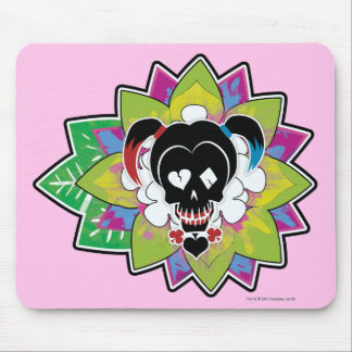 Suicide Squad | Harley Quinn Skull Tattoo Art Mouse Pad