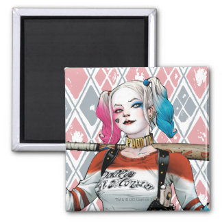Suicide Squad | Harley Quinn Square Magnet