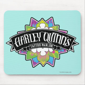 Suicide Squad | Harley Quinn's Tattoo Parlor Lotus Mouse Pad
