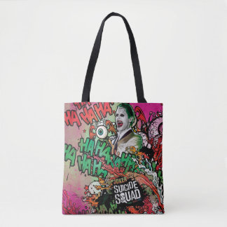Suicide Squad | Joker Character Graffiti Tote Bag