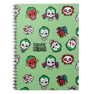 Suicide Squad | Joker Emoji Pattern Notebook