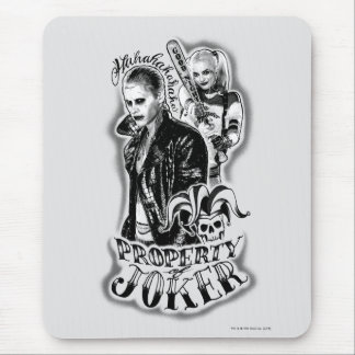 Suicide Squad | Joker & Harley Airbrush Tattoo Mouse Pad