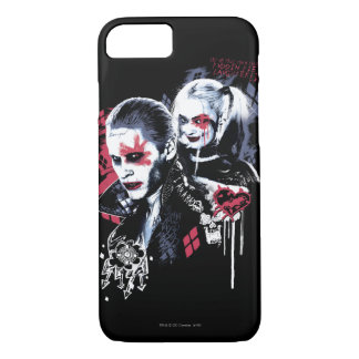 Suicide Squad | Joker & Harley Painted Graffiti iPhone 7 Case