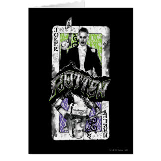Suicide Squad   Joker & Harley Rotten Card