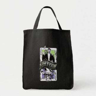Suicide Squad | Joker & Harley Rotten Grocery Tote Bag