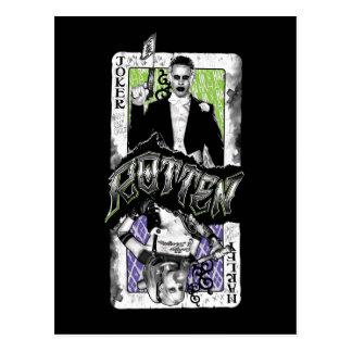 Suicide Squad | Joker & Harley Rotten Postcard