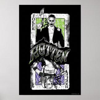 Suicide Squad   Joker & Harley Rotten Poster