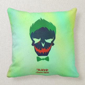 Suicide Squad | Joker Head Icon Cushion